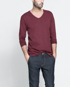 ZARA, T-SHIRT RELAXED FIT 9.95€