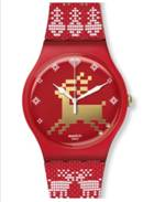 Swatch Red Knit