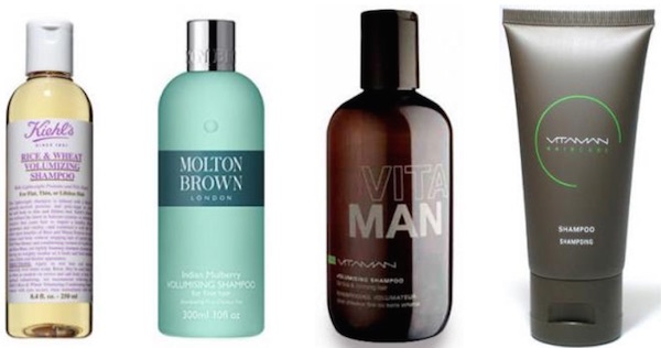 donner volume cheveux homme shampoing volumateur
