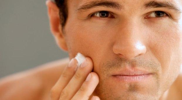 soin peau homme visage