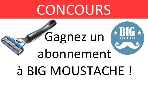 CONCOURS big moustache
