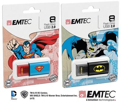 cle usb batman superman concours jeu