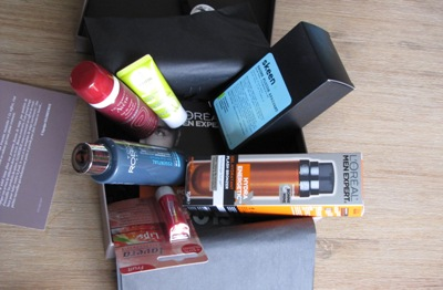 decembre 2013 homme glossybox