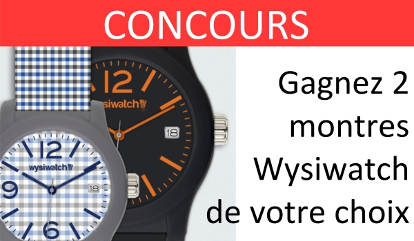 wysiwatch concours montre