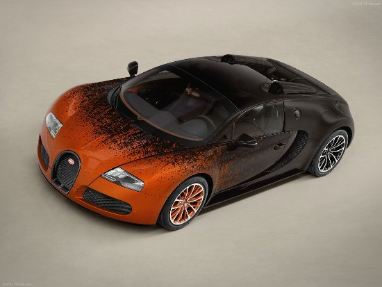Bugatti veyron bernar venet