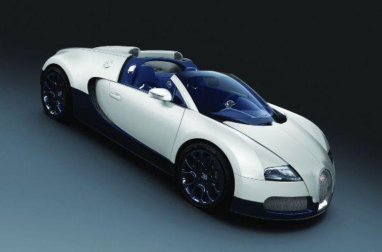 Bugatti veyron matte white