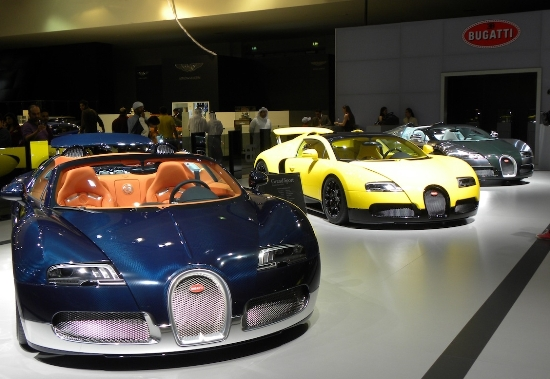 Bugatti veyron middle east editions