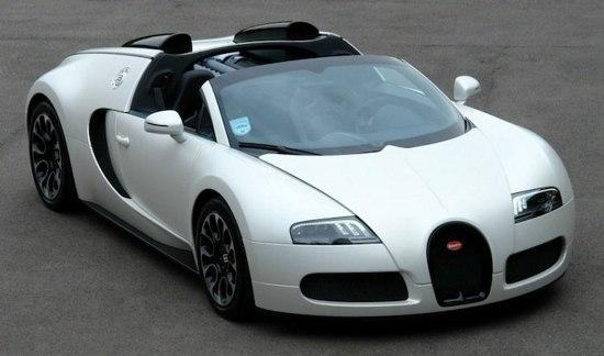 Bugatti veyron sang blanc
