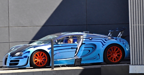 Bugatti veyron saphir bleu