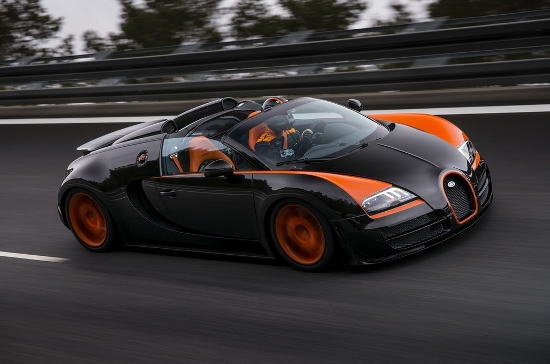 Bugatti veyron world record car edition