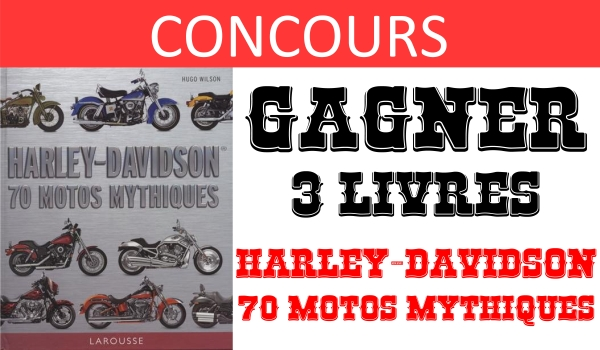 CONCOURS harley davidson livre
