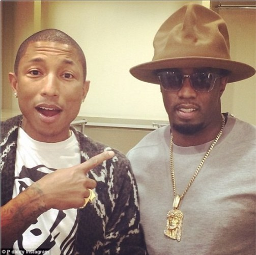 chapeau pharrell williams puff daddy
