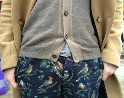 pantalon AMI gros plan
