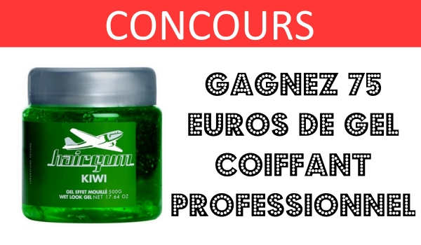CONCOURS gel hairgum mencorner