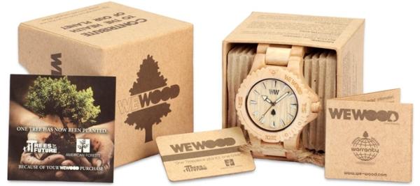 Avis montre en bois wewood