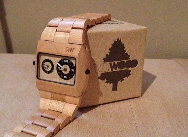 Montre en bois avis wewood