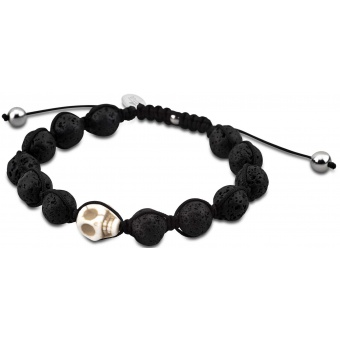 bracelet-lotus-style-Bracelet Tête de Mort Noir homme_340x340