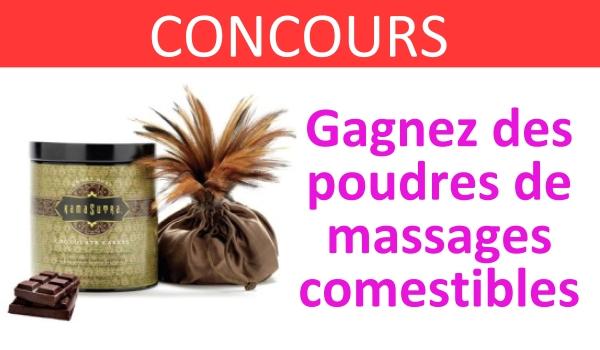 CONCOURS poudre comestible