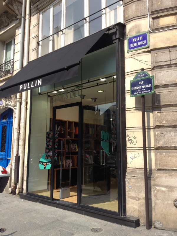 pull-in pullin magasin paris 13 rue turbigo facade