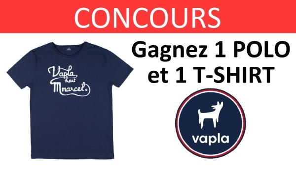 CONCOURS vapla t-shirts polo