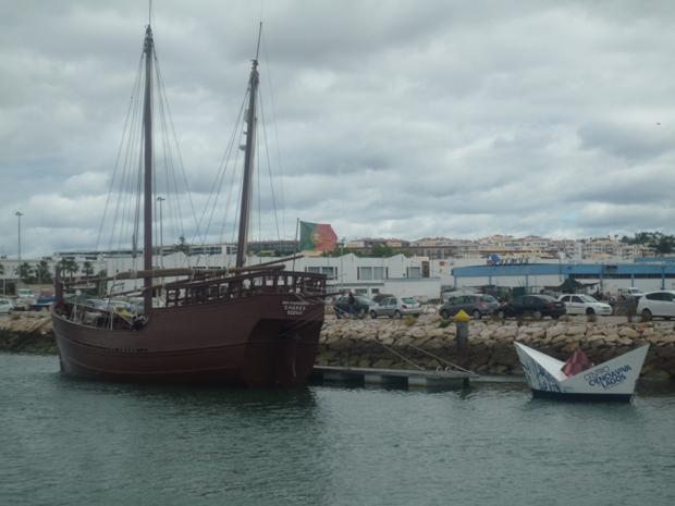 Lagos et son port à Caravelles.