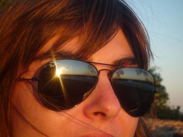 Le coucher de soleil approche, c'est le moment de boire l'apéro à O Catsello à Faro