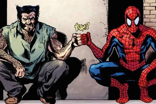 wolverine-spiderman-marvel fox sony