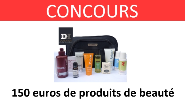 CONCOURS DH cosmetics