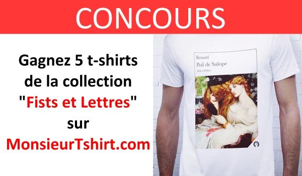 CONCOURS monsieur tshirt