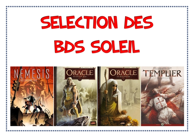 selection bande dessinée soleil oracle