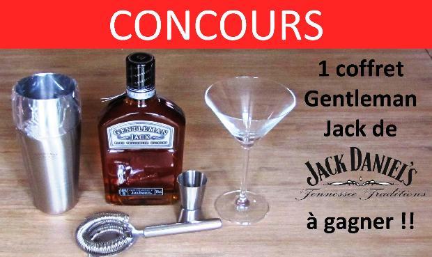 CONCOURS jack daniels gentleman