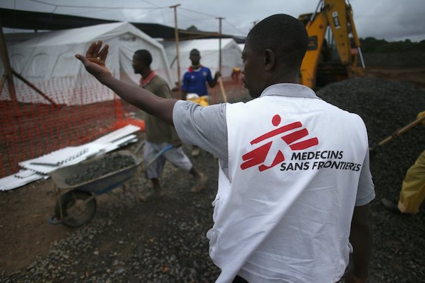 medecins sans frontière ebola