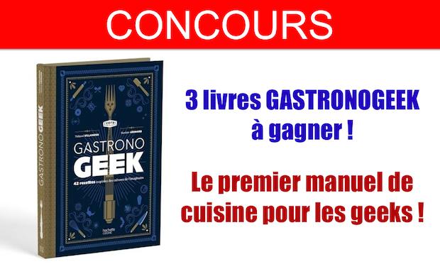 concours livre gastronogeek