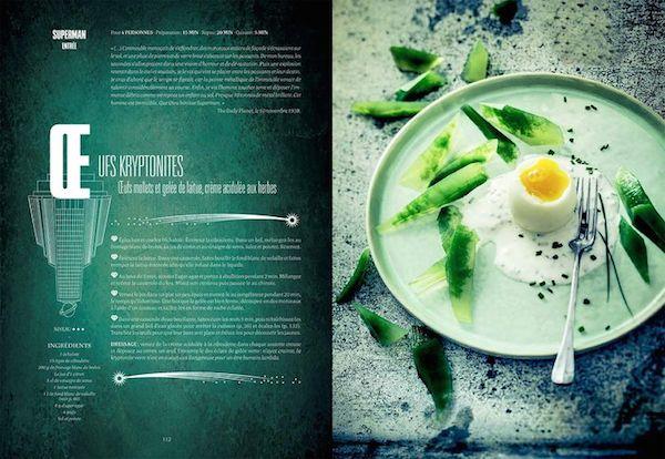 livre cuisine geek