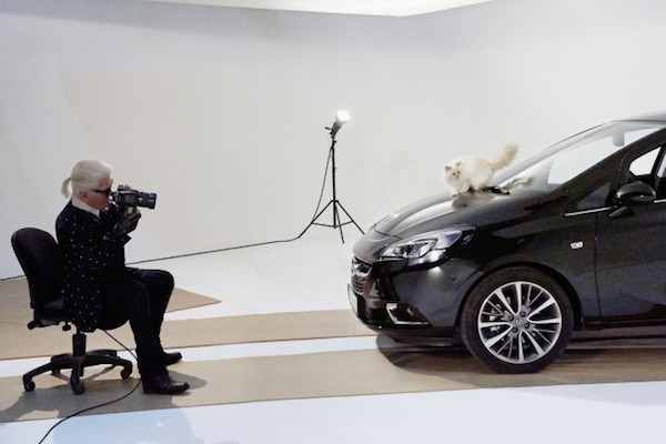 opel corsa chat karl lagerfeld