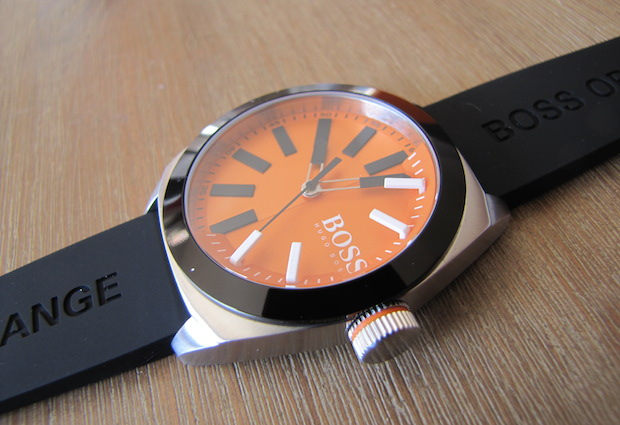Connu Test de la montre BOSS Orange Silicone | Gentleman Moderne DB31