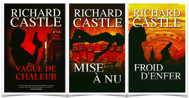 Richard Castle Vague de chaleur, Mise à nu, Froid d'enfer.