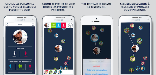 application rencontre saumo