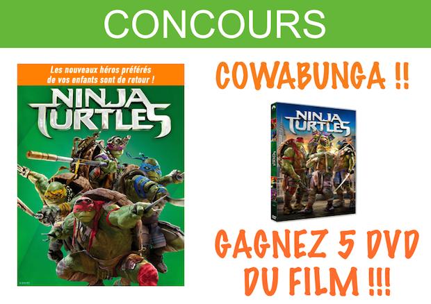 concours dvd tortue ninja