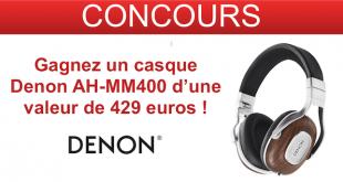 concours denon casque audio