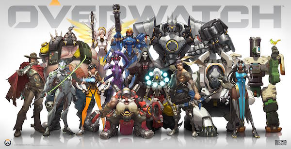 Overwatch blizzard personnages