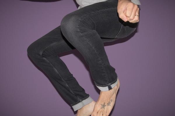 celio jean stretch noir