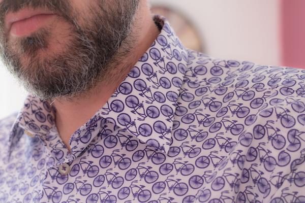 chemise coton doux barbe