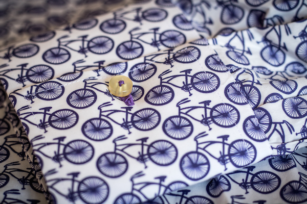 chemise coton doux bicyclette