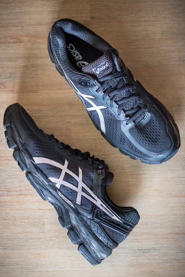 ASICS Gel Kayano 22 course