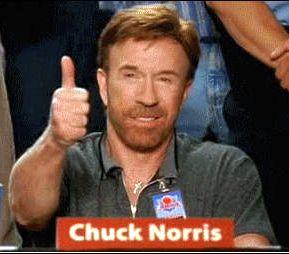 Somuchmore, Approuvé par Chuck Norris