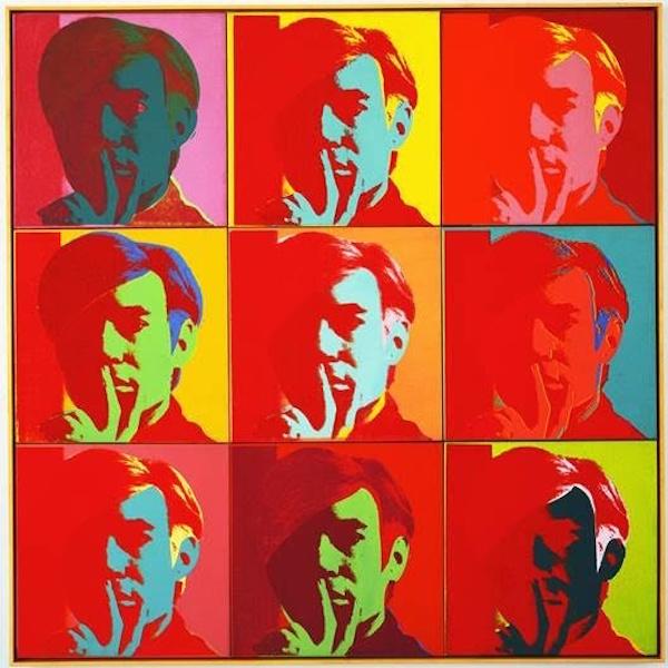 Warhol par lui même