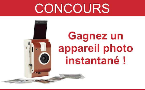 concours appareil photo instantané