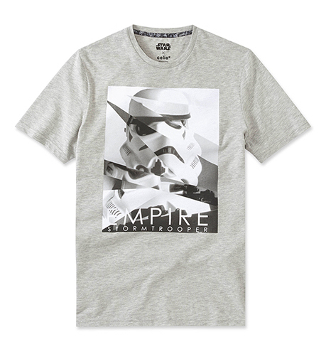 celio t-shirt Star Wars  coton 19,99€ (1)