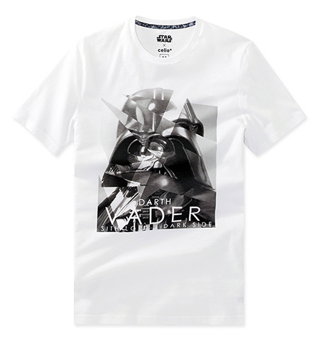 celio t-shirt Star Wars  coton 19,99€ (3)